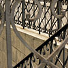Beautiful wrought-iron fence by BibiDesign