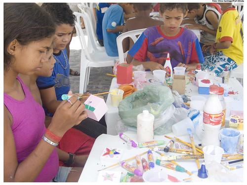 Espaço permite aos jovens a troca do trabalho pela diversão - Foto: Chico Santiago/Pref.Olinda