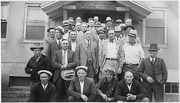 Irrigation Service employees, Flathead Irrigation Project