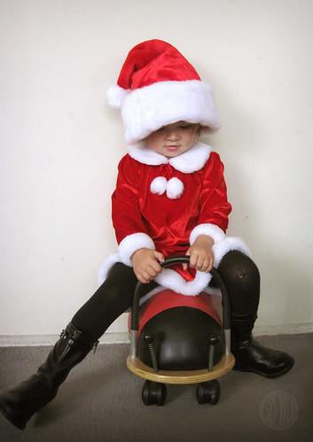 How Santa really gets around.