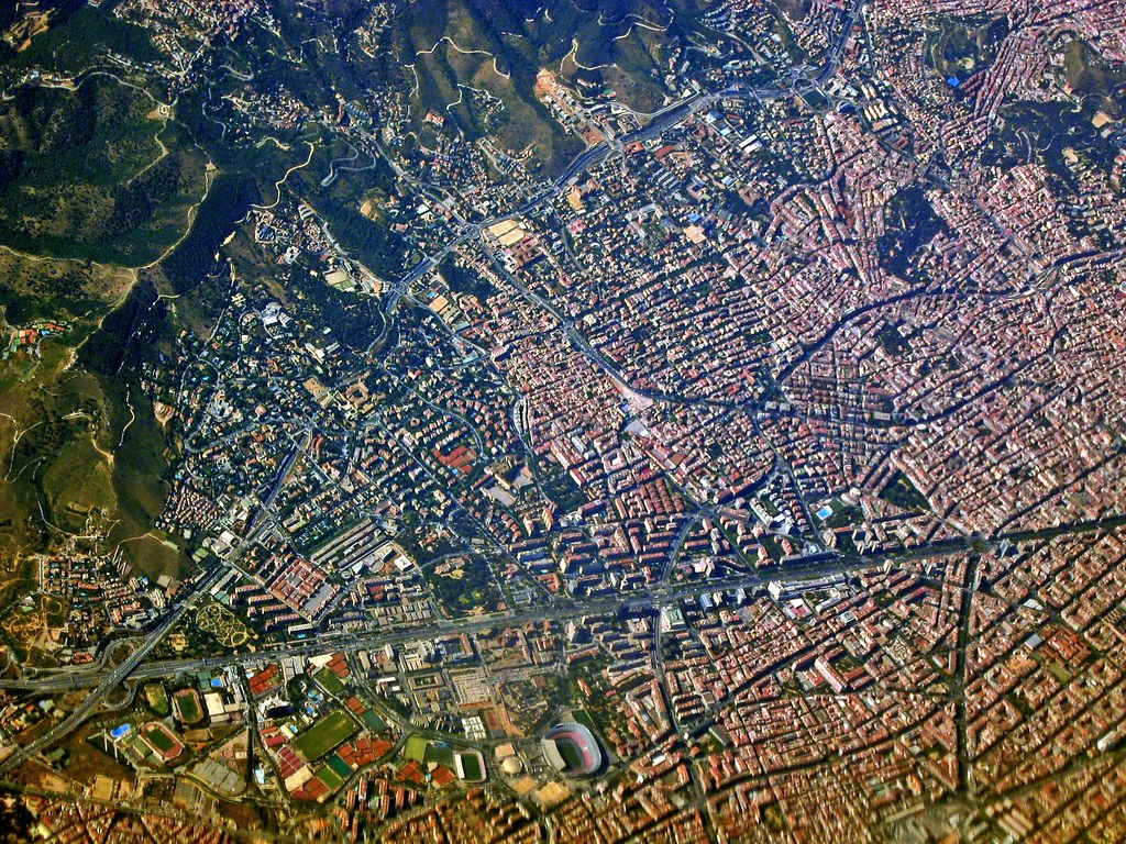 Barcelona from the Air 01