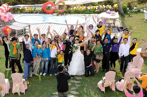 國境之南的婚禮家族旅行