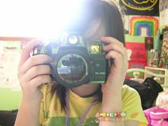 Click. (Just Lauren) Tags: camera light night jones rainbow decoration change click woodstock deftones theused braclets justlauren sandrasroom