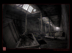 The open sarcophagus (il COE) Tags: plant abandoned industry photoshop canon dark lights factory shadows darkness decay ombre creepy fisheye abandon sarcophagus luci 16mm industria abandonment hdr coe decadence buio oscuro urbex stabilimento sarcofago fabbrica abbandono oscurit decadenza photomatix abbandoni