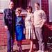 Gene Fowler, Gayle Tenny Fowler, Laura & Ed Tenny 1964
