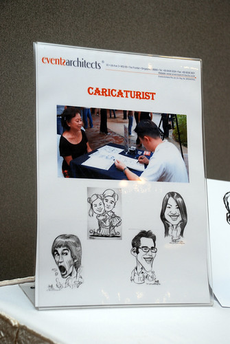 Caricature live sketching for Lonza - e