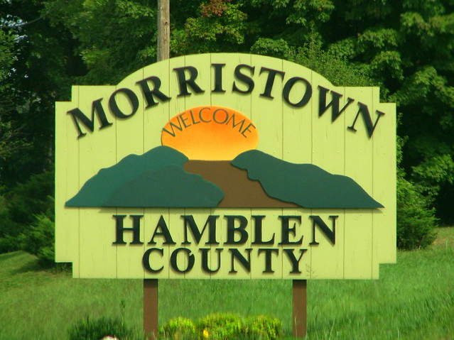 Morristown Sign