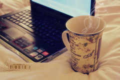 (- M7D . S h R a T y) Tags: lighting coffee random laptop smoke goodmorning cupoftea sonyvaio softlighting sonystyle wordbyme allrightsreserved