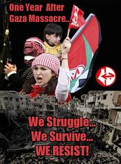 Il FPLP: ad un anno dall'aggressione, la resistenza è necessaria per rompere l'assedio a Gaza