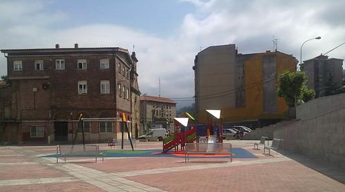 Bancos Plaza Burtzeña I. Barakaldo