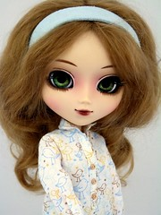 New Flora (Astrihol) Tags: flora doll handmade pullip newlook blanche chipped obitsu rewigged newchips pullipblanche may2011 newwigluts