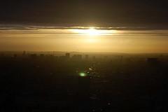 London Fallout (VaBookworm87) Tags: sunset england london thames londoneye londonskyline