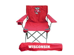 Wisconsin TailGate Folding Camping Chair