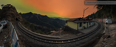 Rail In The Mountain