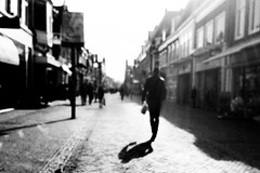 Alone again! Why didn't she believe me! (Lucas Harmsen) Tags: february streetphotography outoffocus cinematicmoments cinematic blurred aloneagain blackandwhitephotography lucasharmsen noediting downtown heart dscrx10 sonydscrx10