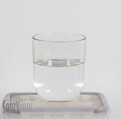A Glass Half Full (Sue_Hutton) Tags: diseworth february2017 hforhalfway alphabetchallenge2017 glass halffull meniscus tumbler water winter