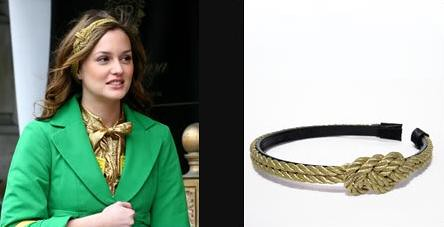 Sui Gold Rope headband from The Royalty Shop