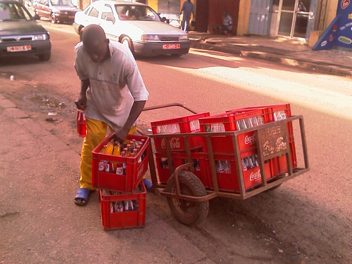 Conakry, Guinea Cola-Cola Distribution