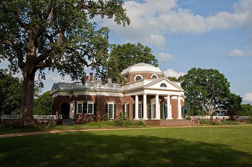 Thomas Jefferson's Home, Monticello, Virginia