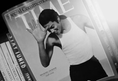 rest in peace MJ. (dazedreverie) Tags: life music history love magazine dance remember michaeljackson legend restinpeace timemagazine lifetime 19582009