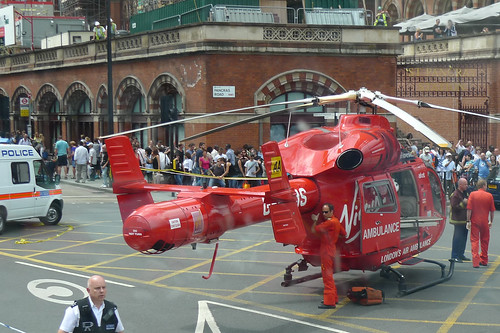 Virgin Air Ambulance by Andrew Jaffe