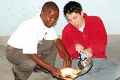 DSC_0072 (LearnServe International) Tags: pancakes education andrew international learning trips service kennedy zambia malambo learnserve lsz lsz09