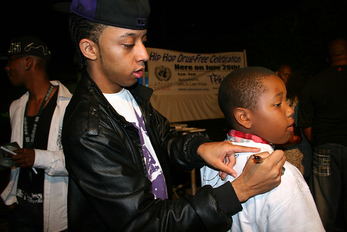 United Nations Hip Hop Artist Signing Shirt