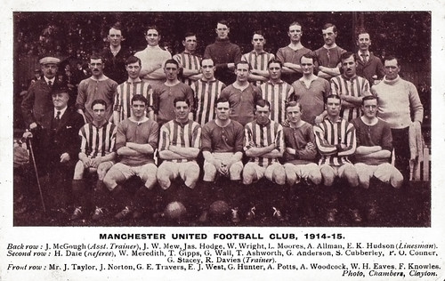 Manchester United 1914-15 team photograph
