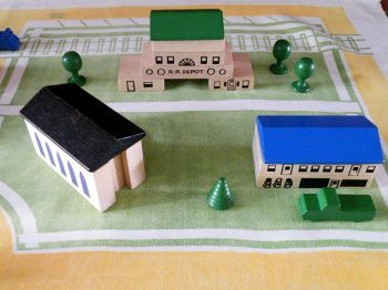 Playskool Village: Train Depot, Garage, Church