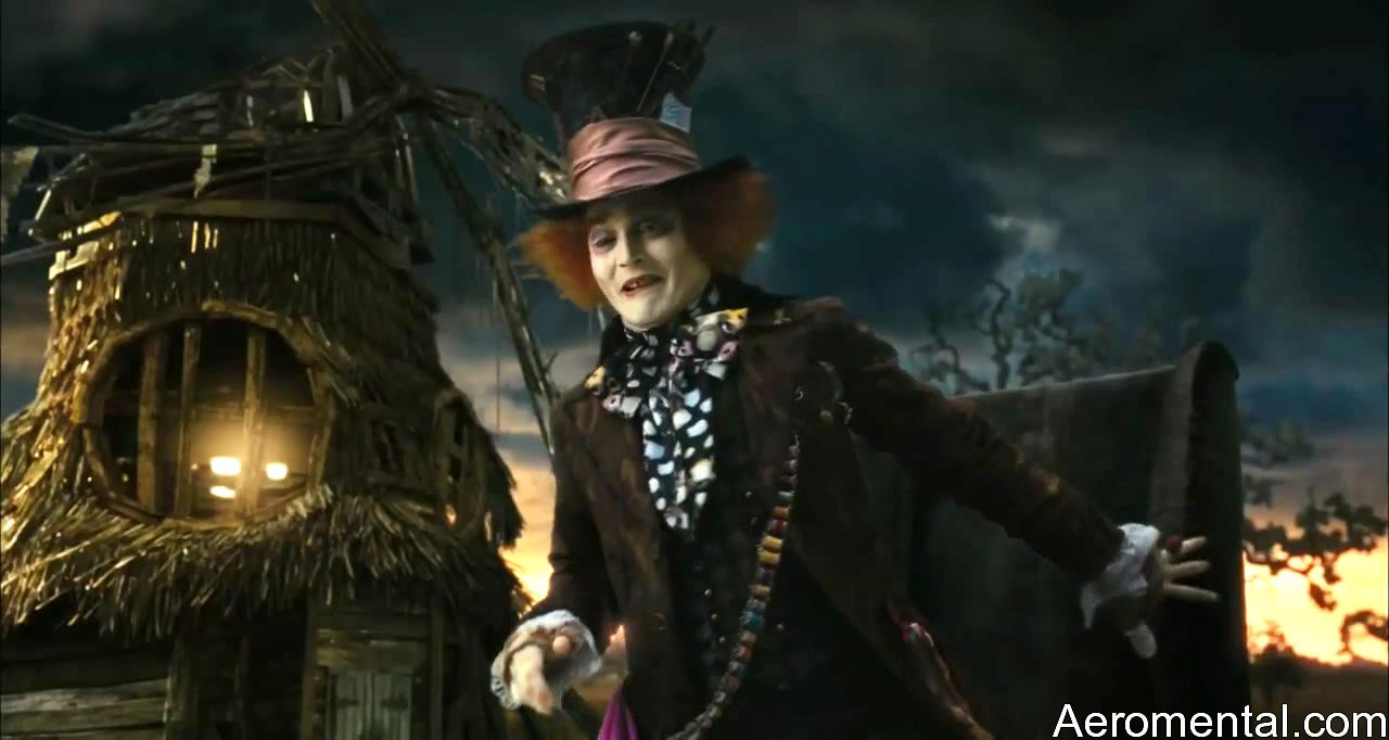 Alicia en el País de las Maravillas Sombrerero Loco hilos