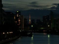 東陽町より、東京タワー