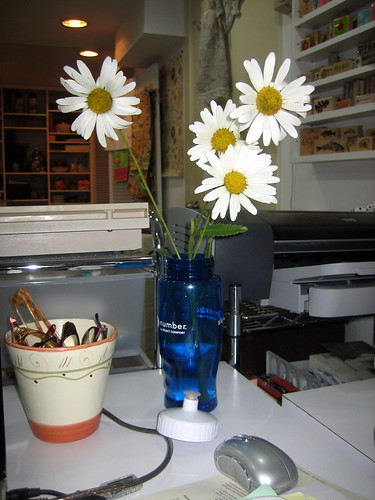 flowers for my desk