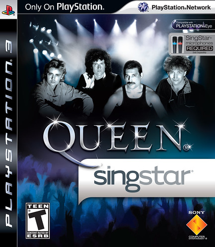 SingStar Queen Packfront