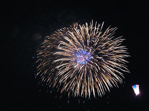 Fireworks in Itabashi, 2009 - 7