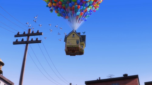 Fotograma de UP, de Disney Pixar