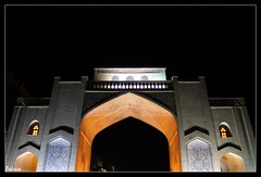 Qur'an Gate 3 - Shiraz - Iran |   -  -  (Pedram Veisi) Tags: night canon eos gate iran nightlight shiraz  quran    fars  40d qurangate platinumheartaward
