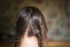 Bedhead (Kim Smith-Miller) Tags: california selfportrait messy braids arcata bedhead 2009 pigtail backofmyhead thetreehouse crookedpart problyshouldasquarecroppedit
