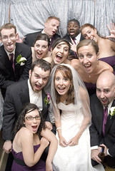 Photo Booth! (gregpphoto) Tags: wedding people love photobooth marriage romance persons 2009 bridalparty