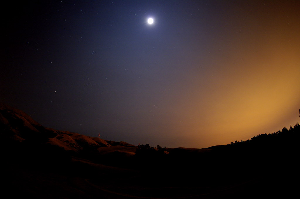 Perseid Metor Night Attempt with Pentax DA 10-17mm f/3.5-4.5 fisheye and Pentax K20D