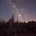 Milky Way Over Tufa Towers
