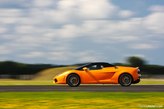 LP560-4 Spyder. (Denniske) Tags: orange motion netherlands dutch speed canon eos 22 is movement action 14 convertible august spyder 09 l quarter mm nl dennis katwijk panning lamborghini 70200 2009 arancio f28 ef mile 08 rami gallardo oranje valkenburg 22nd lambo the zuidholland noten lseries gally southholland llens 40d lam666 denniske dennisnotencom wwwdennisnotencom dutchquartermile2009dennisnotencom