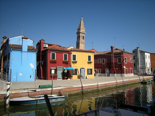 Torre inclinada de Burano
