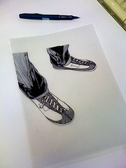 shoes (Justice Mukheli) Tags: street art illustration pen shoes drawing fineart pop line charector paperdrawing photographicdrawing shoesdrawing