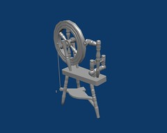 Render of Spinning Wheel