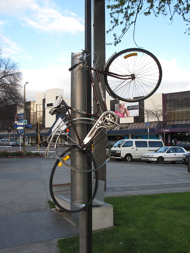 Bicycle in Palmerston North, NZ