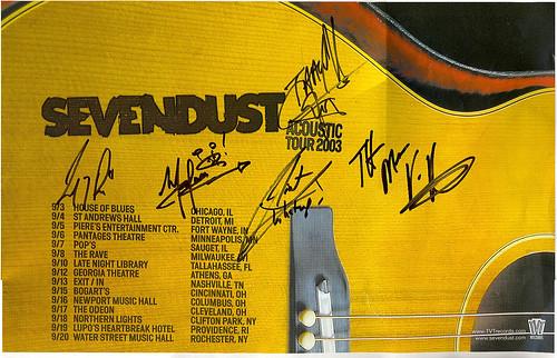 Sevendust Acoustic 2003