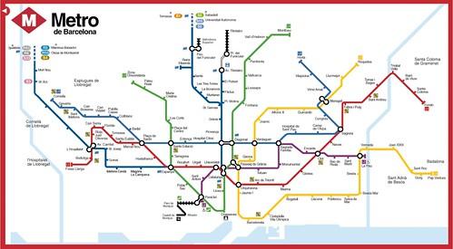 plano grande del metro de barcelona tmb por Patricil, en Flickr