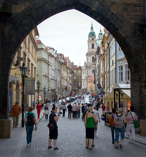 Entering Malá Strana by you.
