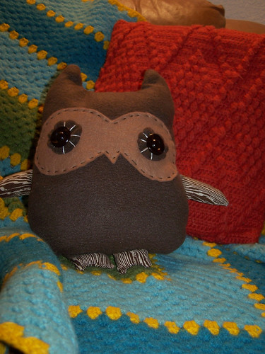 project 6: Stanley the owl plushie