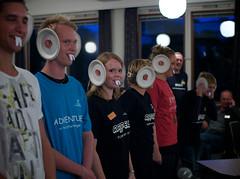 Solborg 2009-10, Første kveld med gjengen